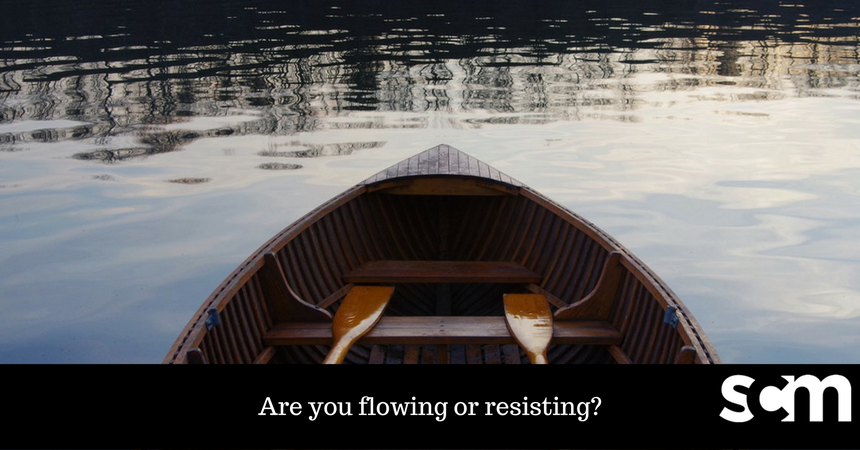 Are you flowing or resisting? #successSunday