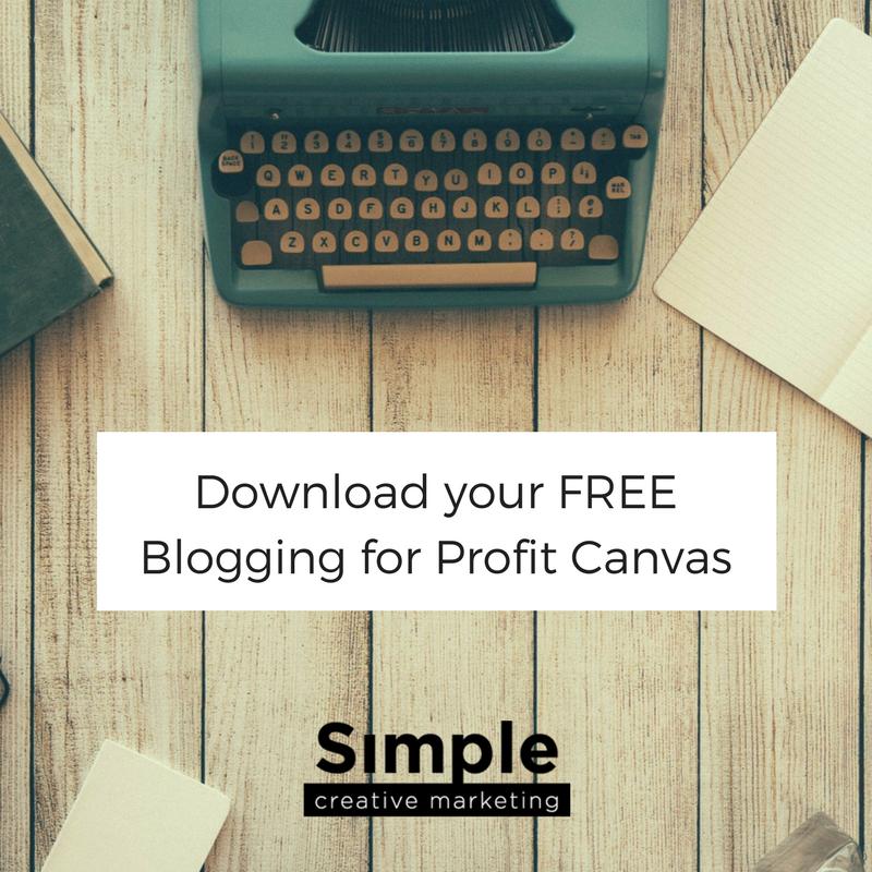 BloggingforProfitCanvas