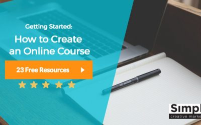 Getting Started: How to Create an Online Course (27 Free Resources)