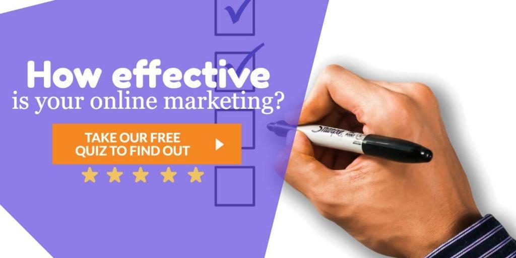 marketing quiz banner