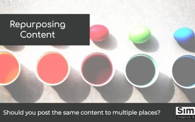 Repurposing content: Should you post the same content to multiple places?