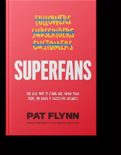 Superfans book cover pat flynn
