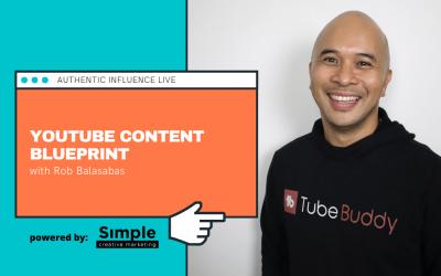 Youtube Content Blueprint with Rob Balasabas