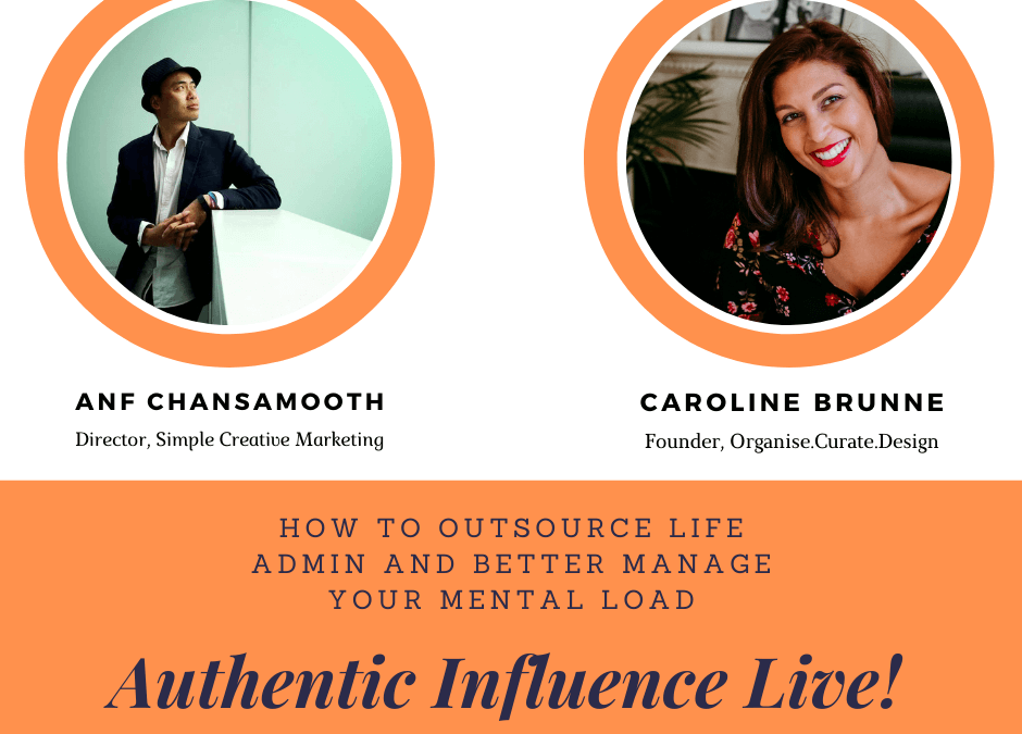 How to Outsource Life Admin and Better Manage Your Mental Load with Caroline Brunne