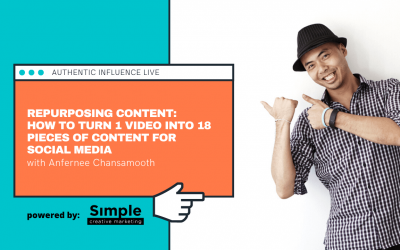 Repurposing video content: How to turn 1 video into 18 pieces of content for social media
