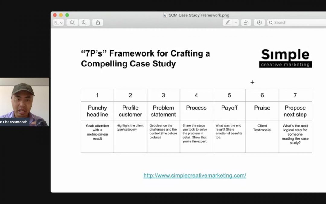 Case study format: A framework for writing compelling customer success stories (business case studies)