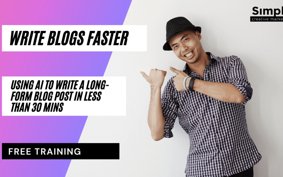 Using Jarvis AI to write a long-form blog post in less than 30 mins.